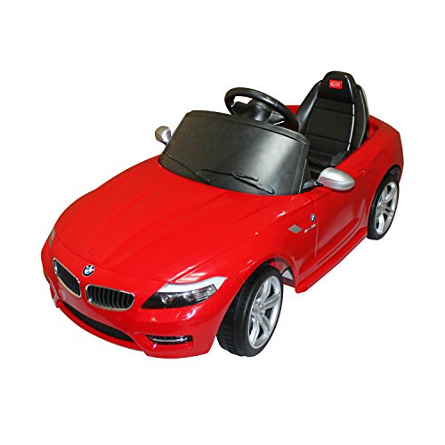 Bmw Z4 Pedal Car: Aosom BMW Z4 Kids 6v Electric Ride On Toy Car W/ Parent