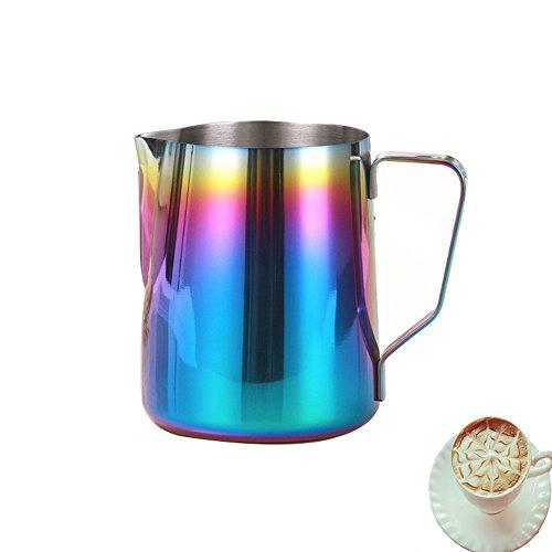 metal milk steaming pitcher - 6