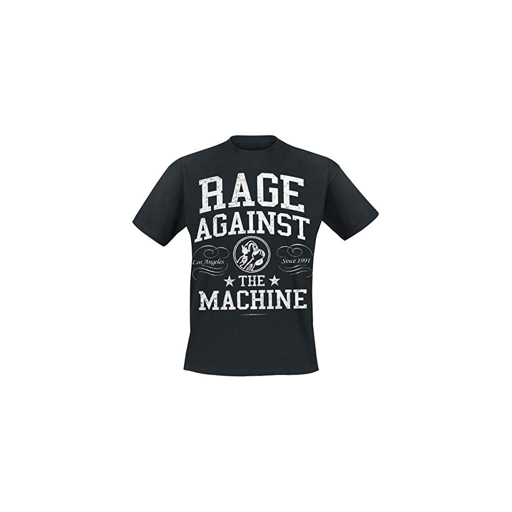 Rage Against The Machine Crown Collage Camiseta