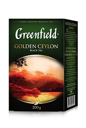 Greenfield Schwarztee Golden Ceylon 200g loser schwarzer Tee black Tea