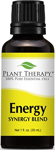 Plant Therapy Energy Synergy Essential Oil Blend . Blend of: