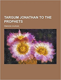 Book Targum Jonathan to the Prophets