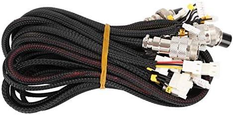 Ganquer Cable Alargador Kit Extraíble Piezas No Soldador ...