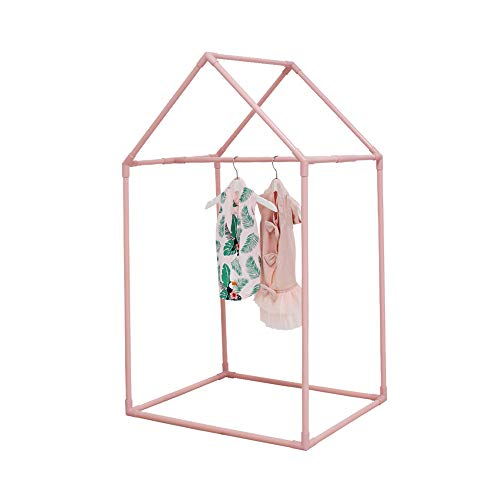 "PETITE MAISON Pet Closet - Closet for Dog, Cat, Kitty or Puppy, Small to Medium Sized, Handmade Premium Quality, Indoor/Outdoor Wardrobe, 100% Aluminium Super-Light, Portable, 26"" x 17"" x 43""- Pink"