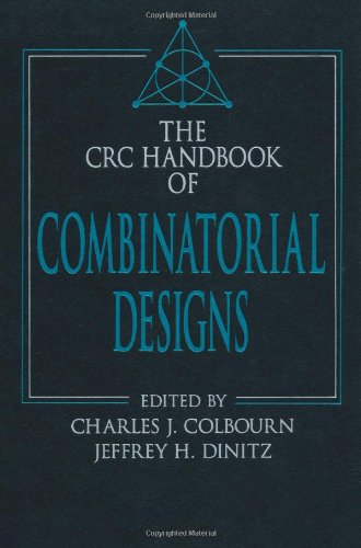 CRC Handbook of Combinatorial Designs (Discrete Mathematics and Its Applications)