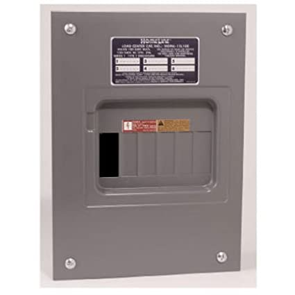 Square d by schneider electric hom612l100fcp homeline 100 amp 6 square d by schneider electric hom612l100fcp homeline 100 amp 6 space 12 circuit indoor greentooth Image collections