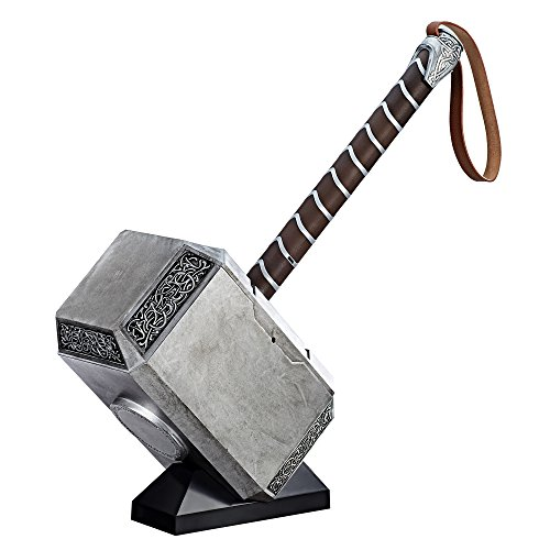 Thor Hammer Replica (Avengers Marvel Legends Series Mjolnir Electronic)
