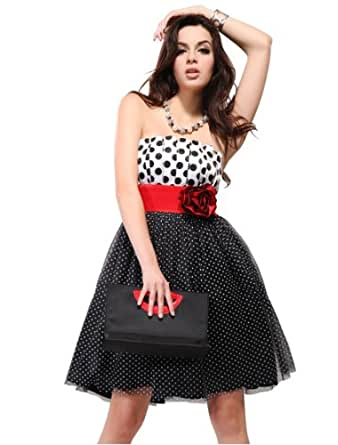 Ever Pretty Cheap Homecoming Dress For Teens 03276, HE03276BK10, Black, 8US