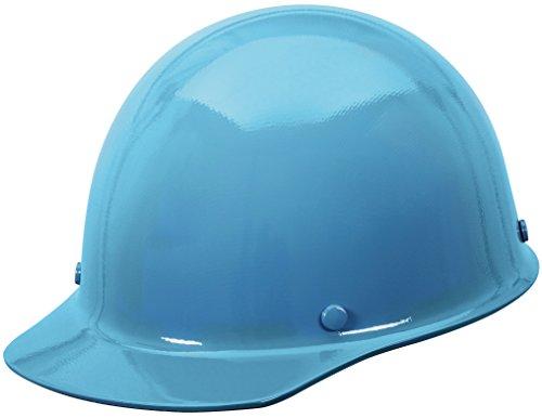 (MSA 475401 Skullgard Protective Hard Hat Front Brim, Fas-Trac III Suspension, Standard Size, Blue)