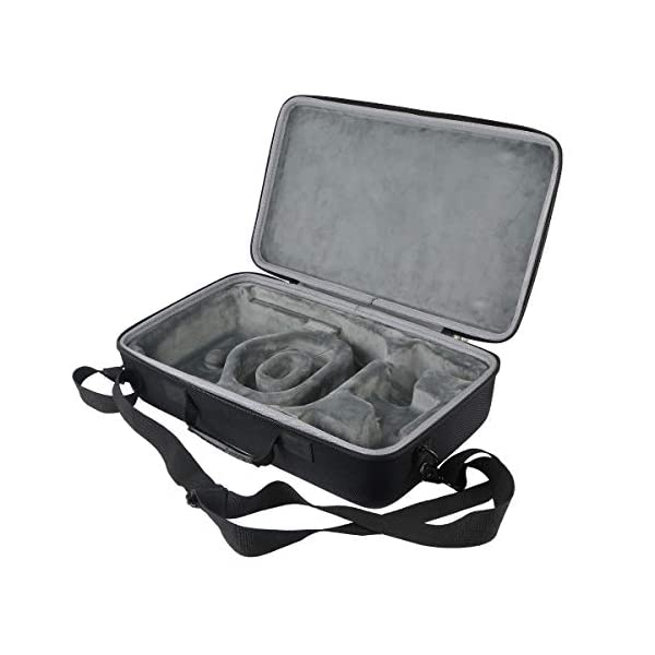 co2CREA Hard Travel Case Replacement for Oculus Quest 1 2 Advanced All-in-one VR Gaming Headset 6