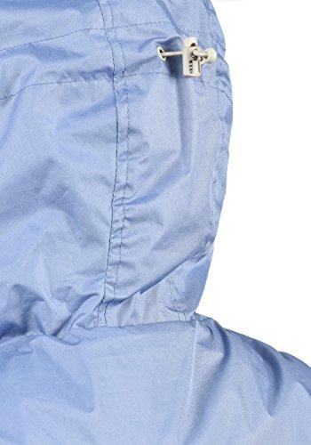 Entretiempo Briddi Mujer Vapor 28003 Capucha con Blue BlendShe Chaqueta De para Impermeable Cortavientos t1TTqAwd