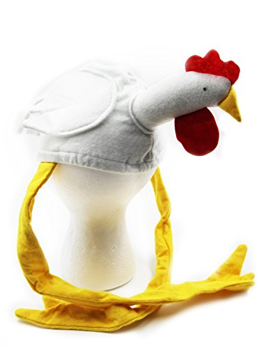 Chicken Rooster Hat Costume Party Hats- Funny Chicken Hats Costume Accessory -Play Kreative TM (Adult Rooster Costume)
