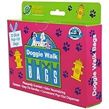 Doggie Walk Bags Classic Baby Powder Box Blue, 70 Pop-Out Bags