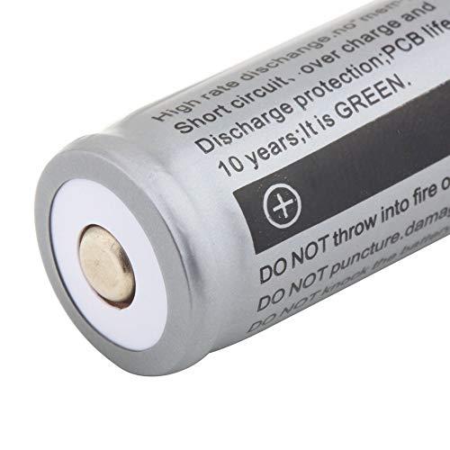 18650 3200mAh 3.7V Batteria ricaricabile non protetta agli ioni di litio Illuminazione di emergenza Dispositivi portatili Utensile elettrico Grigio