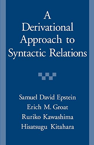 A Derivational Approach to Syntactic Relations