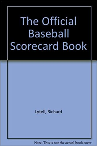 amazon in buy the official baseball scorecard book book online at