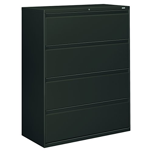 Hon 800 Series Lateral Files w/ Locks-4-Drawer, Lateral, Wit