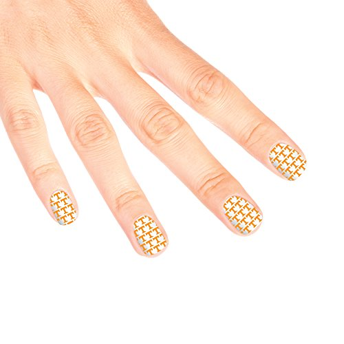 - Tennessee Volunteers Game Day Nail Decals (14 Total Strips)