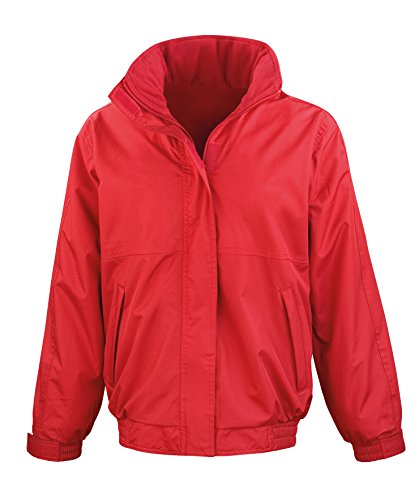 The Jacket Woman Central Red Channel BgCHP