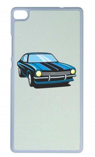 """Smartphone Case Apple IPhone 4/ 4S """"hot Rod Sportwagen Oldtimer Young Timer Shellby Cobra GT Muscel Car America Motiv 9818"""" Spass- Kult- Motiv Geschenkidee Ostern Weihnachten"""