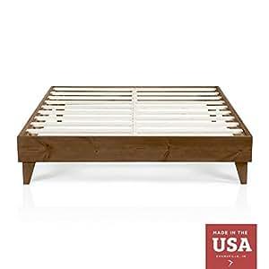 Amazon Com Cardinal Amp Crest Wood Platform Bed Frame