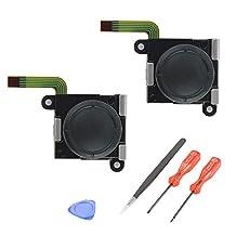 XCSOURCE 2pcs 3D Analog Thumbstick Joystick Rocker DIY Module with Install Tools for Nintendo Switch Joy-Con Game Controller AC1494