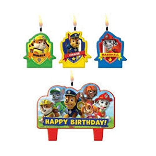 Paw Patrol Mini Candle Set (4pc) AX-AY-ABHI-76365