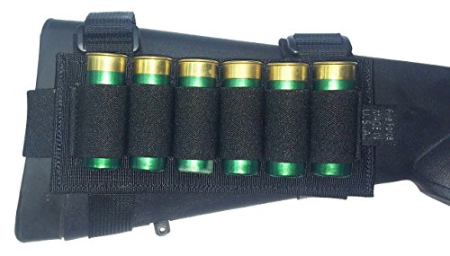 Fire Force Butt Stock Shotgun Shell Holder (Black)