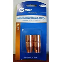 "Miller Genuine Copper Flush Nozzle, 1/2"" orifice for MM140,180,211 2/pk - 246372"