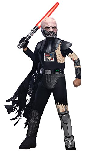 Darth Damaged Vader Battle Costume (Morris Costumes Darth Vader Battle Damaged Child)