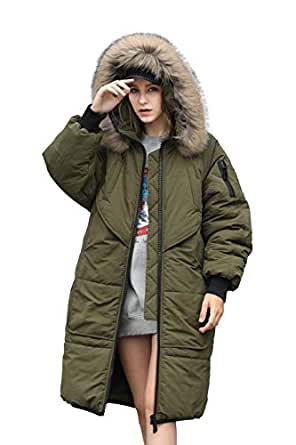 Amazon.com: Winter Jacket Coat Women Puffer Anorak Long