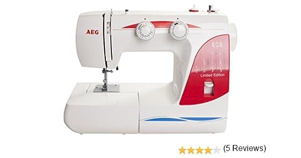 AEG Máquina de Coser 124, 24: Amazon.es: Hogar