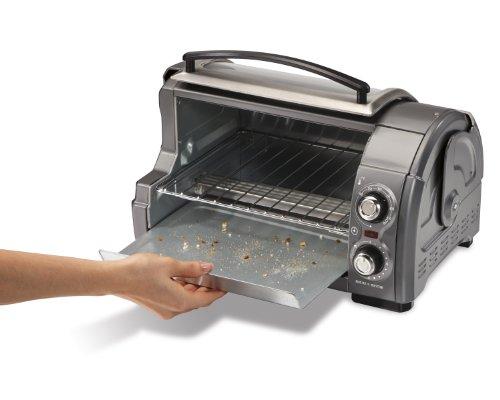 040094313341 - Hamilton Beach Easy Reach Toaster Oven, Metallic (31334) carousel main 3
