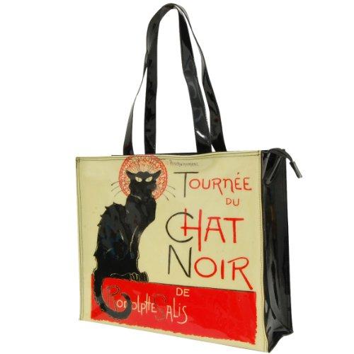 Chat Noir vinyl-Tasche