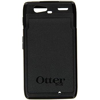motorola droid razr cases. otterbox commuter case for motorola droid razr, black design, ultimate protection - retail packaging razr cases o