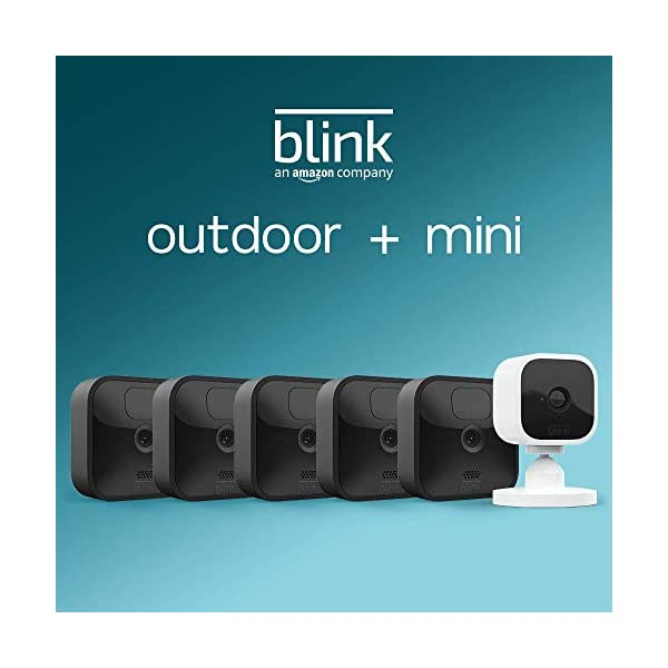 All new Blink Outdoor  5 camera kit with Blink Mini