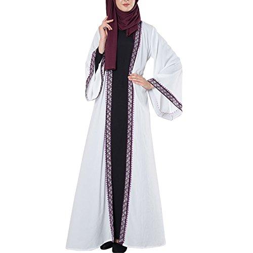 Durchgehend Kleid Weiß Damen Essence East wZq7YY