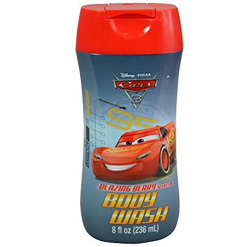 Lavar Cream (Disney Pixar Cars 3 Blazing Berry Scented Body Wash 8oz)
