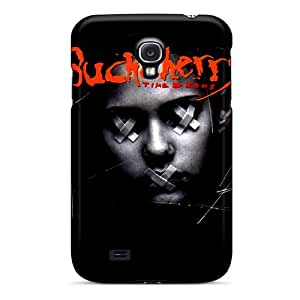 Tpu Case Cover For Galaxy S4 Strong Protect Case - Buckcherry Design