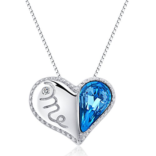 Amazon Com S925 Sterling Silver Necklace Pendant For Women Girl