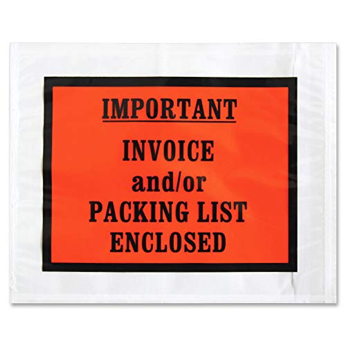 (Sparco Pre-Labeled Important Invoice Envelopes (SPR41928))