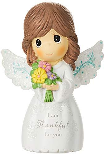 Precious Moments 162404 I Am Thankful For You, Mini Resin Figurine