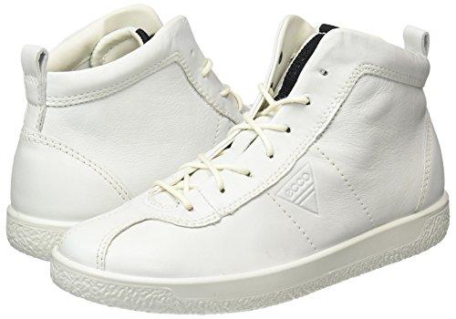 Soft Ecco 1 Blanc Hautes Femme white Baskets Ladies 6dFqRdBw