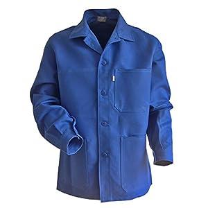 LMA 200241 PLANTOIR Veste fermeture à boutons col chevalier, Bleu Bugatti, 6