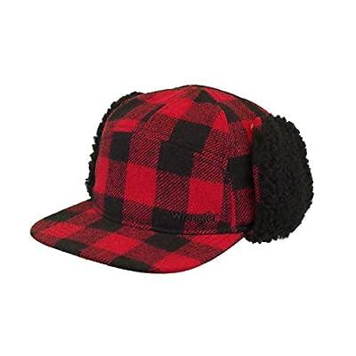 Wrangler Men's Lumberjack Faux Wool & Sherpa Cap