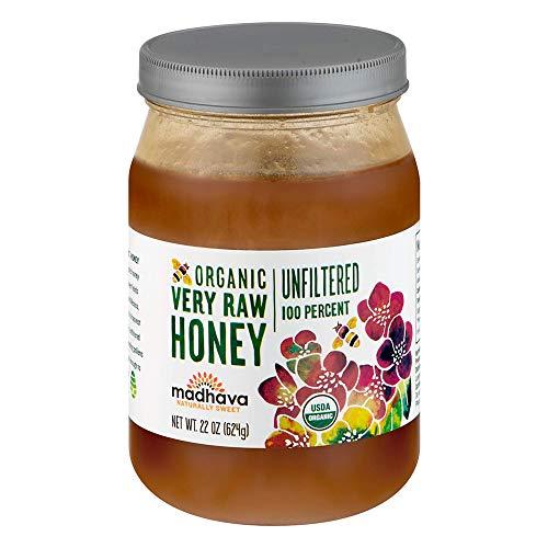 Madhava Natural Sweeteners Organic Very Raw Honey, 22-Ounce