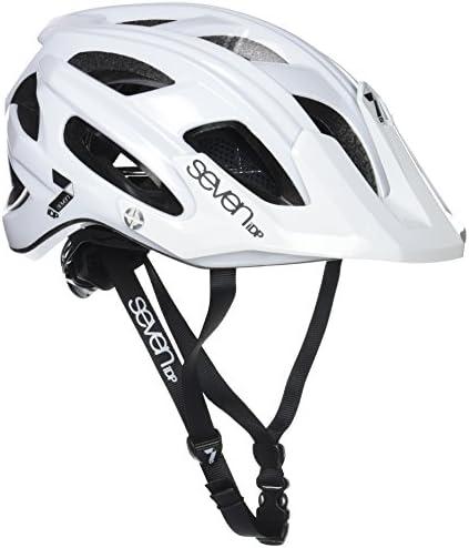 Seven M4, Casco de bicicleta Unisex Adulto, Blanco (Blanc Mat/Noir), S/M (54/58 cm): Amazon.es: Deportes y aire libre