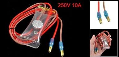 KSD303-A ligação do fio 2 -7C normalmente aberto Frigorífico de descongelamento termostato 250V 10A: Amazon.com: Industrial & Scientific