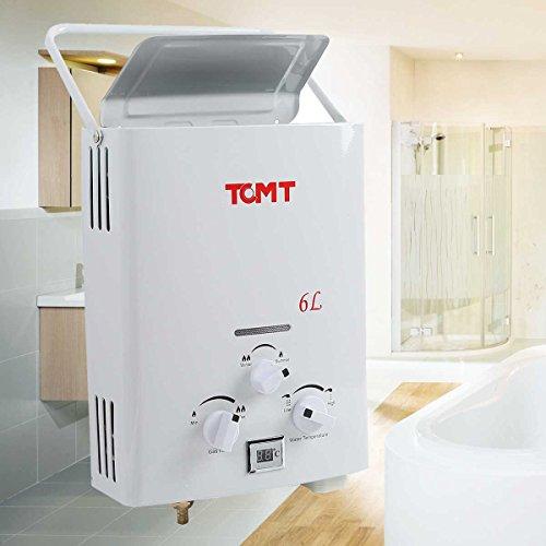 Tengchang 6L Hot Water Heater 1.3GPM LPG Gas Boiler Tankl...