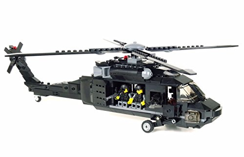 Battle Brick UH-60 Black Hawk Custom Set